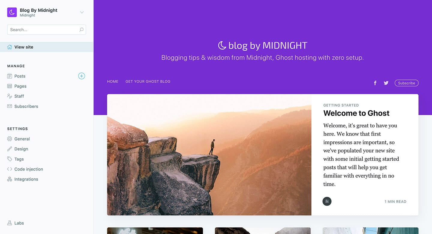 What are Ghost blogs & why are they a better alternative to